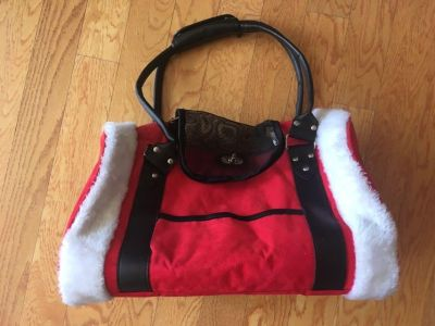 Christmas Puppy/small dog carrier