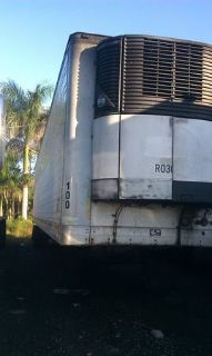 2007 Kenworth T2000 with 2000 Trailmobile Reefer.  (Hialeah)