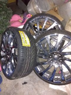 "22""chrome rims... Starrs JW 718"