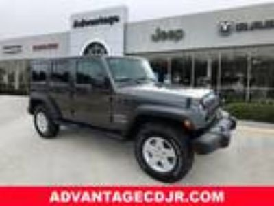 2018 Jeep Wrangler Unlimited Gray, 11 miles