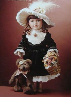 "Boyds Yesterdays' Child Doll ""MEREDITH W/ JACQUELINE"" 4933 Limited Edition - New"