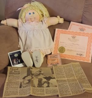 Cabbage Patch Kids Registered Original (Girl)