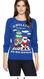 NWT Holiday Sweater!!! Chillin w/my Homies!