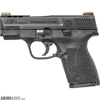 For Sale: SMITH AND WESSON M&P45 SHIELD 45 ACP PORTED