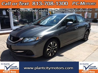 2013 Honda Civic EX (Gray)