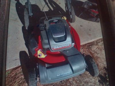 Snapper self propelled push mower