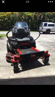 Toro SS5060 Time Cutter 50 cut zero turn riding mower