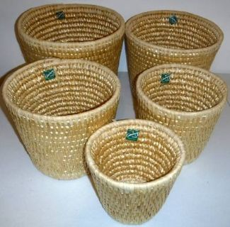 New! 5 Baskets - for storage or plants