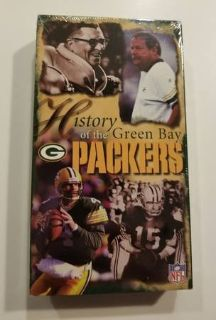 1997 NFL Films PolyGram Records History of the Green Bay Packers VHS