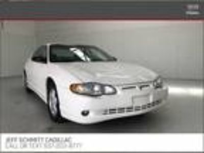 used 2002 Chevrolet Monte Carlo for sale.