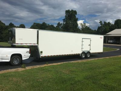 Innovator 35 gooseneck enclosed trailer