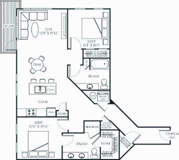 2 bedroom in Redmond