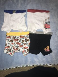 Cars toddler boxer briefs