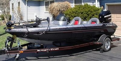 2005 Ranger 165VS bass boat