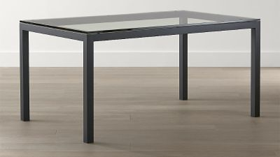 Crate & Barrel Original Parsons Dining Table