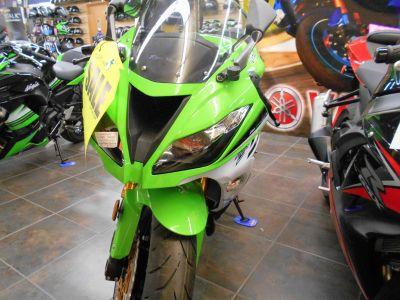 2015 Kawasaki Ninja ZX -6R ABS 30th Anniversary SuperSport Motorcycles Belvidere, IL