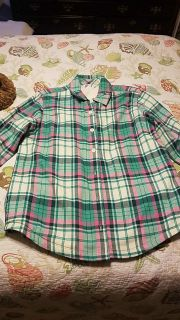 Women's shirt by Lee Riders size medium fully fleece-lined new without tags