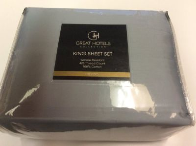 **BRAND NEW***Great Hotels Collection King Size Sheet Set***