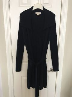 Michael Kors Navy Long Sweater