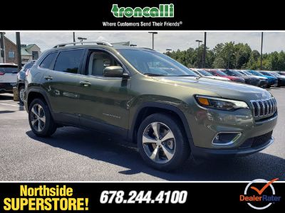 2019 Jeep Cherokee LIMITED FWD (Olive Green Pearlcoat)