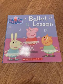 Peppa Pig Ballet Lessons book