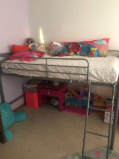 Kids loft bunk bed