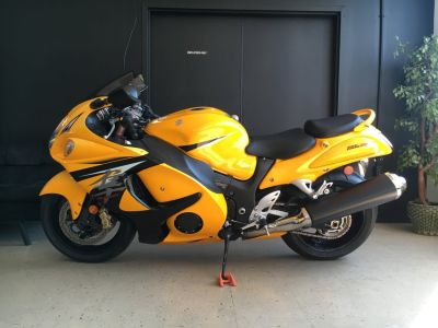 2013 SUZUKI GSX1300RAZL3 HAYABUSA LIMITED SPORTBIKE UNLEADED GAS