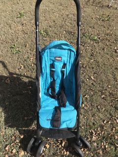 Chicco Echo Umbrella Stroller Turquoise And Black