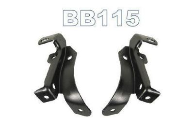 Purchase 70 71 72 73 CAMARO FRONT INNER BUMPER BRACKETS PAIR motorcycle in Bryant, Alabama, US, for US $69.95