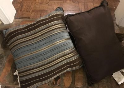 Accent Pillows, Never removed from packaging