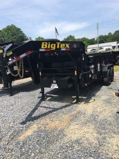 2019 Big Tex Trailers 14GX-14BK7SIRPD 83X14 DUMP TRAILER Dump Trailers Rome, GA