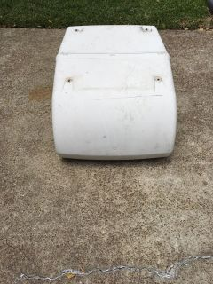 A/C cover for camper