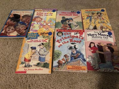 Book lot. Most of them EUC. Avery Park.