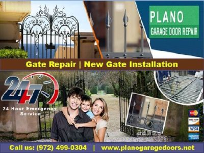 Top Opener Gate Repairs by Garage Door Service $25.95 |Plano Dallas, 75023 TX