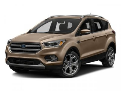 2018 Ford Escape Titanium (Ruby Red)