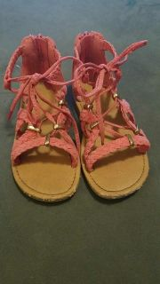 Size 11 cat and Jack girls sandals