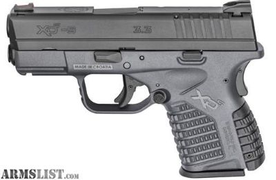 For Sale: Springfield Armory XDS Grey (9mm)