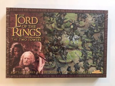 BNIB Lord of the Rings the two towers board game