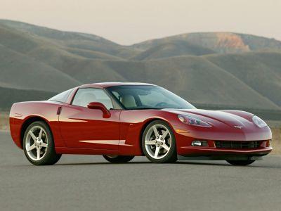 2006 Chevrolet Corvette Base (Machine Silver Metallic)