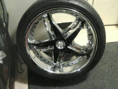 """Rims Including Free Tires"" 4-18 Inch Rims"