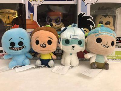 Rick and Morty Funko mini plushie Keychain lot of 4