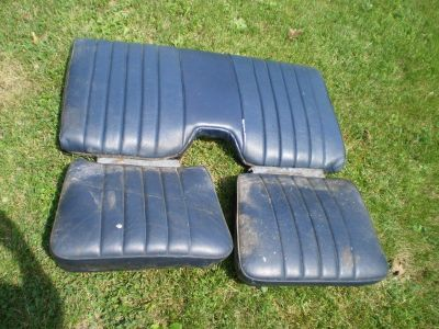 PONTIAC TRANS AM,FIREBIRD,CHEVROLET CAMARO,RS REAR SEAT BACK, 1970-1981