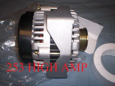 Find GMC Yukon Hummer H1 HIGH OUTPUT 253AMP ALTERNATOR CHEVY TAHOE CADILLAC SSR BUICK motorcycle in San Mateo, California, US, for US $179.59