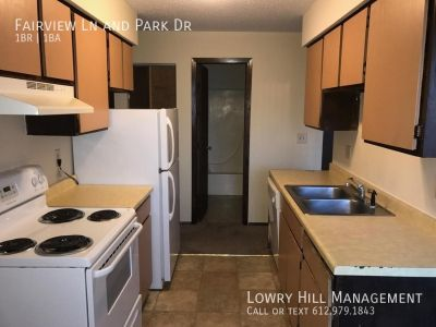 Fairview Ln and Park Dr - 1 bed, 1 full bath
