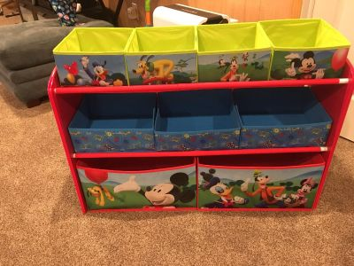 Mickey Mouse Clubhouse Storage Organizer