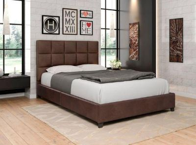 (BRAND NEW IN BOX) King Size Tuft Bed Frame