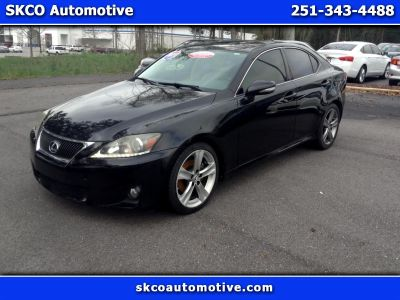 2011 Lexus IS 250 Base (BLACK)