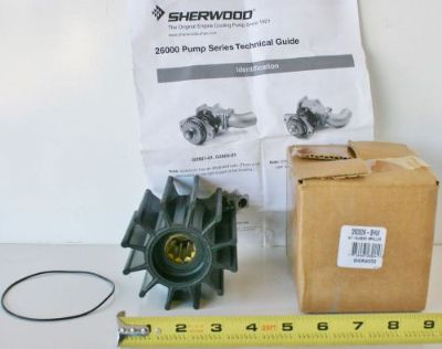 Find NEW Sherwood Water Pump Impeller 26000K - SHW kit Diesel Marine Motor Yacht Boat motorcycle in Daytona Beach, Florida, United States, for US $114.99