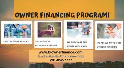 Owner Financing Program!