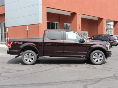 2018 Ford F-150 XLT 4WD SuperCrew 5.5' Box (RED)
